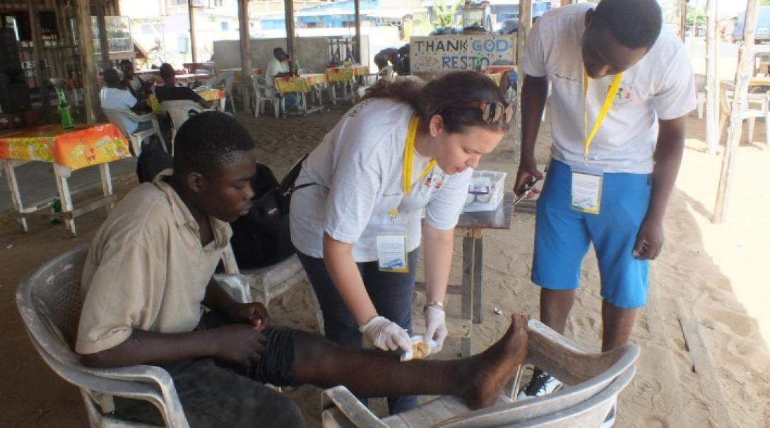A medical outreach project in Togo